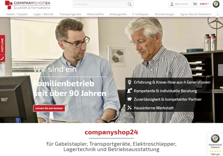 Dahlgaard Onlineshop companyshop24