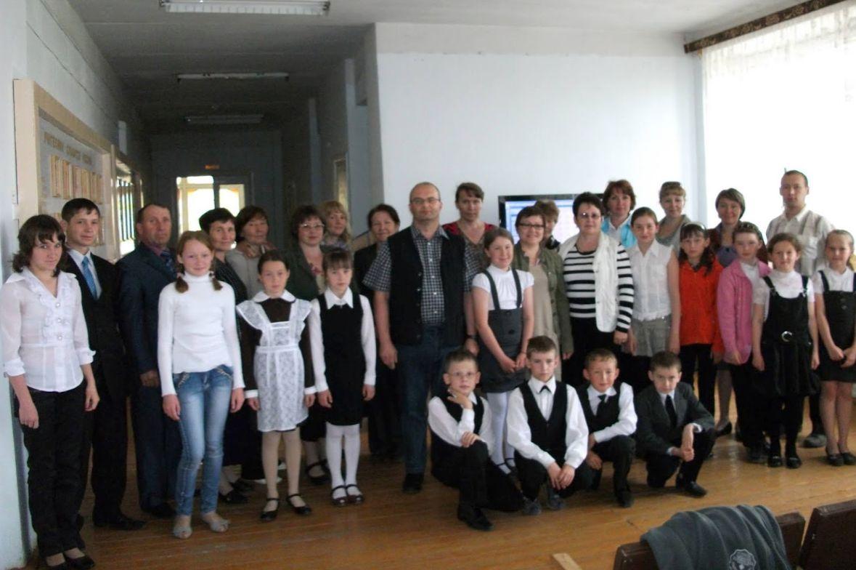 Dahlgaard Sachspende für das Schulprojekt in Udmurtien