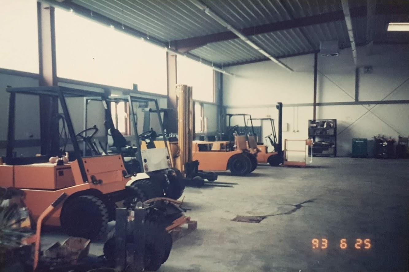 Die Werkstatt bei Dahlgaard 1993